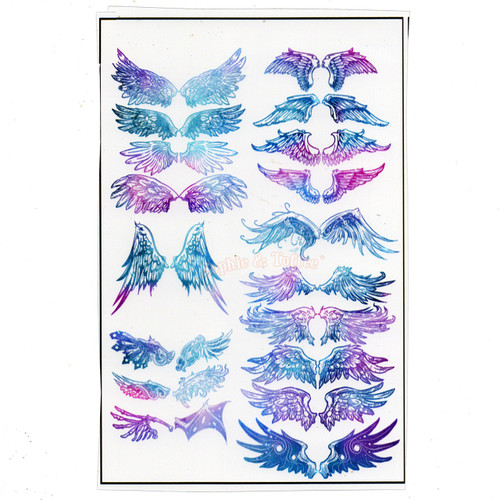 Enchanting Wings Gradient Design Film (for UV Resin)