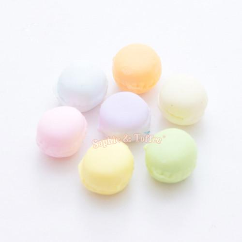 Polymer Clay Macaron Miniature - 7 pieces