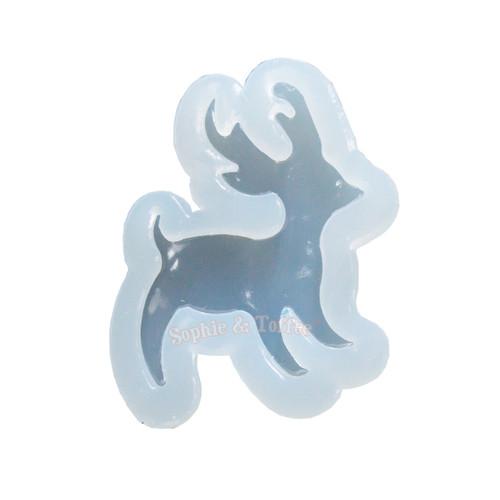 Christmas Fawn Deer Silicone Mold