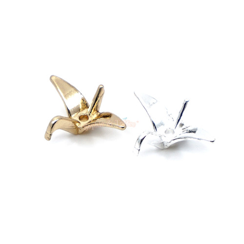 Bird Crane Resin Filler Embellishment Charm Set (8 pieces)