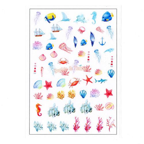 Starfish Ocean Resin Design Film