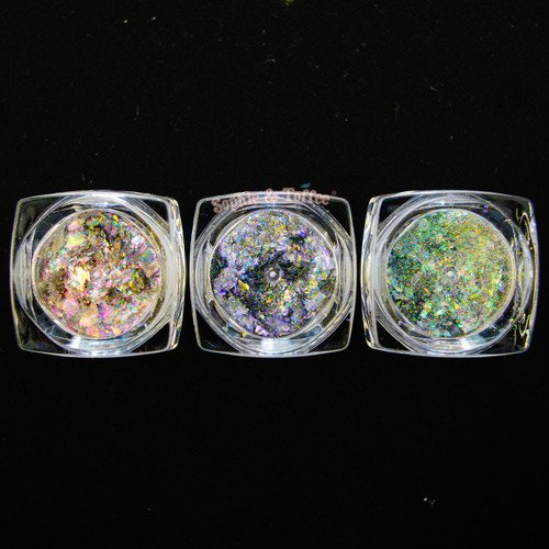 Iridescent Chameleon Pigment Flakes (1 Pot)