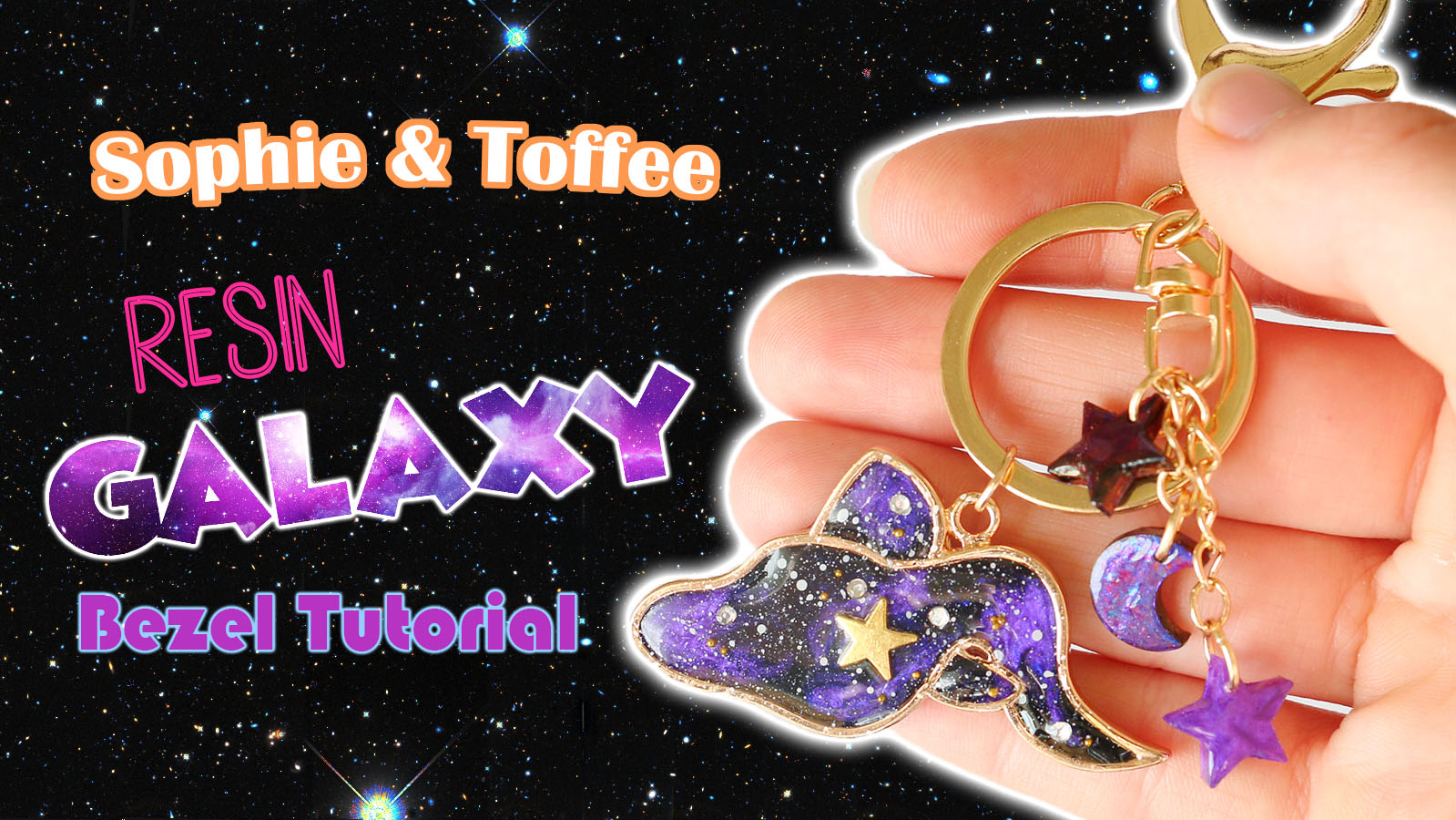 Zodiac Bezel Charm Key Chain Tutorial (November Elves Box)