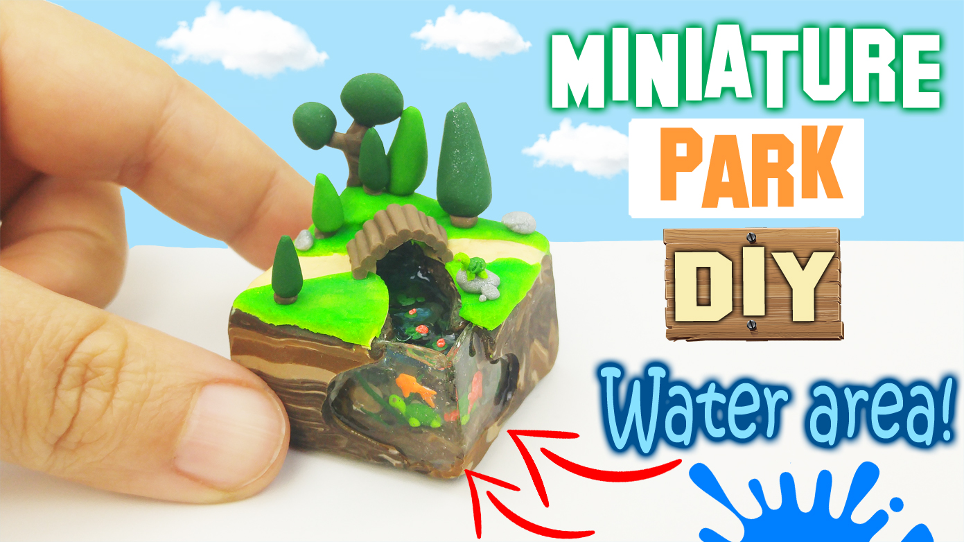 Video Tutorial: Miniature Park DIY with UV Resin