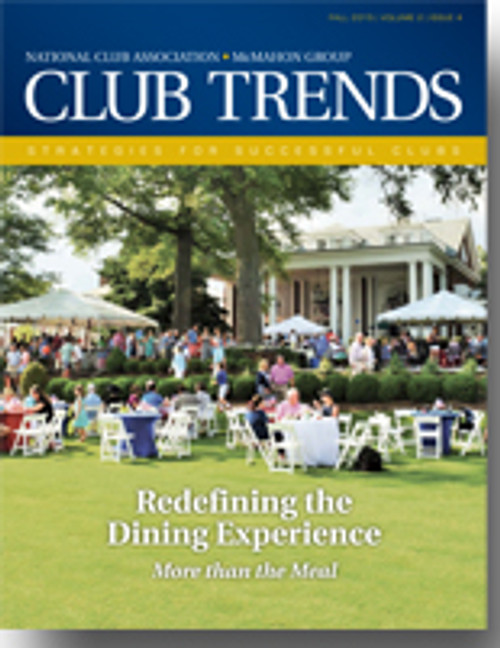 2015 Club Trends 2.4 - Redefining the Dining Experience