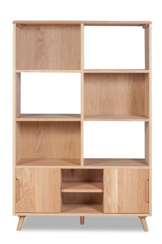 Dream Cube Style Office Bookcase - Timber
