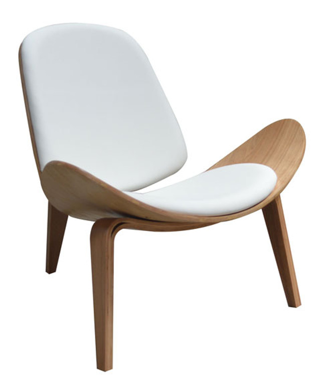 White Shell Chair Hans Wegner Replica