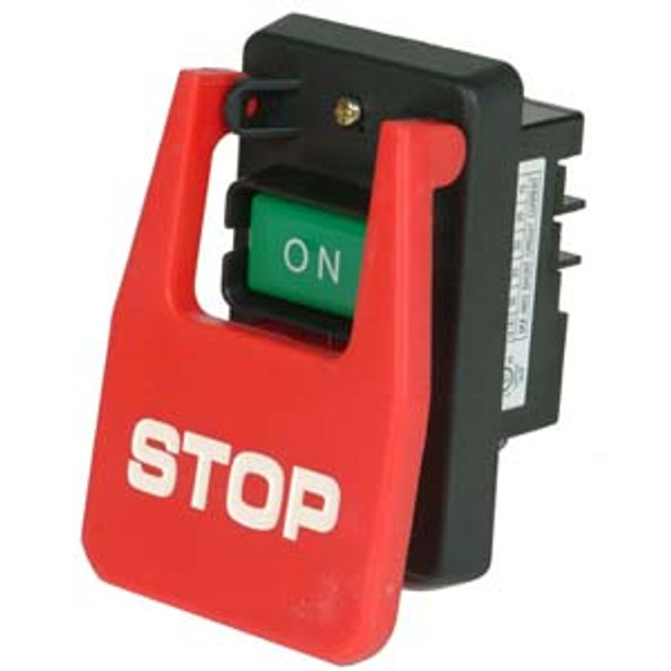 SWITCH LARGE STOP BUTTON 2HP CUL