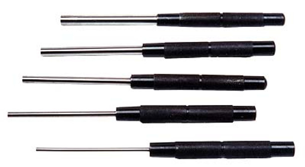 DRIVE PIN PUNCH 8IN. 5 PC SET