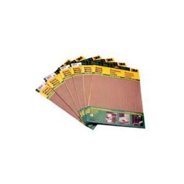 SAND PAPER GARNET 9X11 60G 5PC/PAK 3M