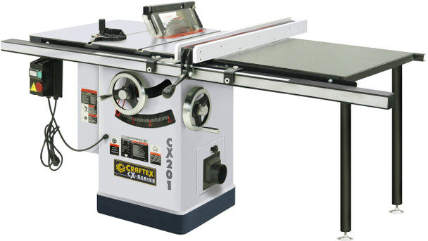 CABINET TABLE SAW 10IN. 3HP W/50IN. RAIL CSA CX201
