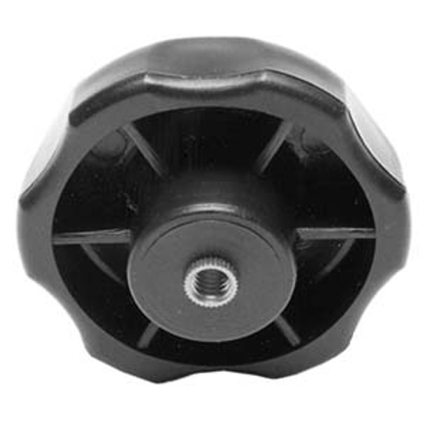 KNOB STAR 21/4IN. D X1/4IN. X20TPI THRU HOLE