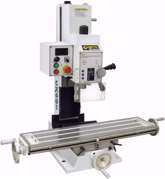 MILLING MACHINE WITH DIGITAL READOUT