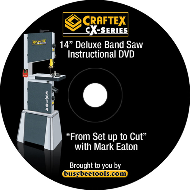 DVD FOR CX104 SETUP TO CUT W. MARK EATON