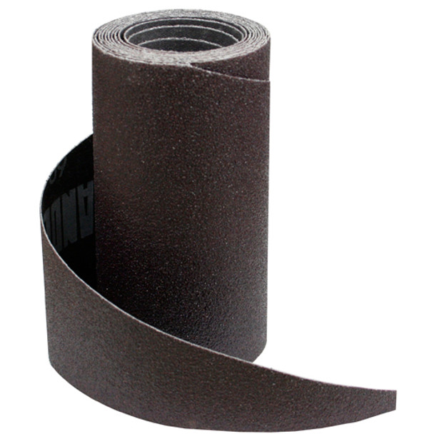 SANDING PAPER ROLL 80G 5 1/8IN. X 7FT 9IN.
