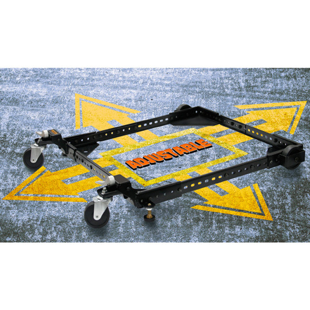MOBILE BASE UNIVERSAL 500LBS CRAFTEX