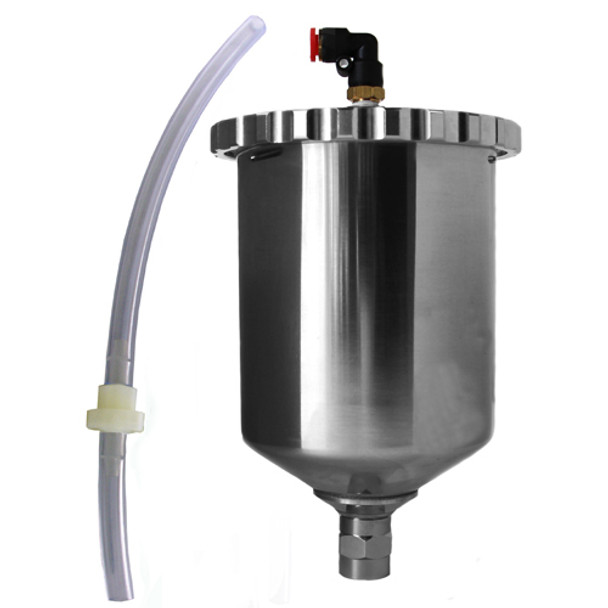 600CC GRAVITY CUP ASSEMBLY FOR T SERIES