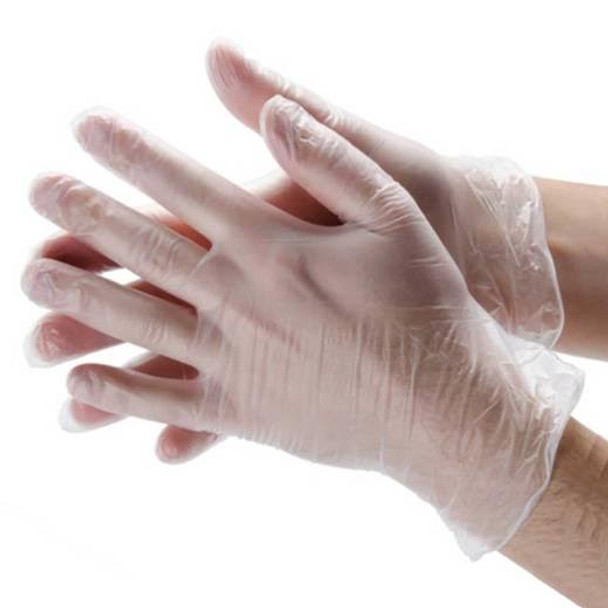 GLOVES VINYL POWDER FREE LARGE