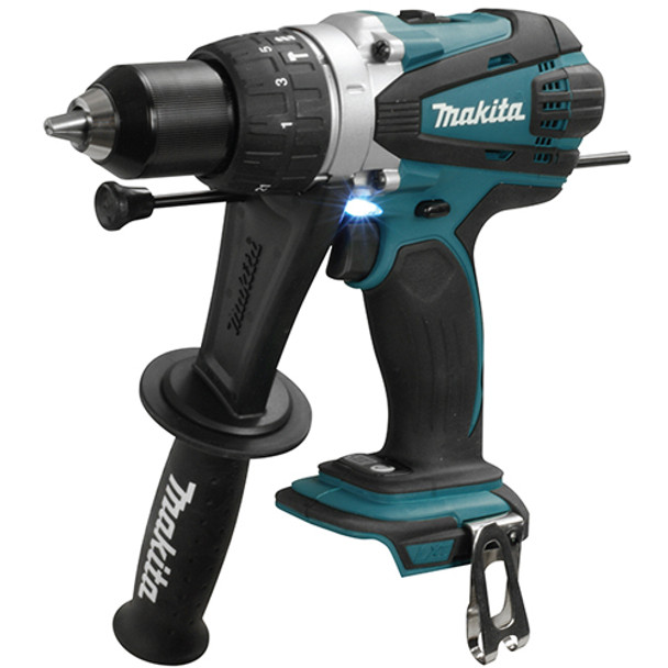 HAMMER DRIVER DRILL 18V TOOL ONLY MAKITA DHP458Z