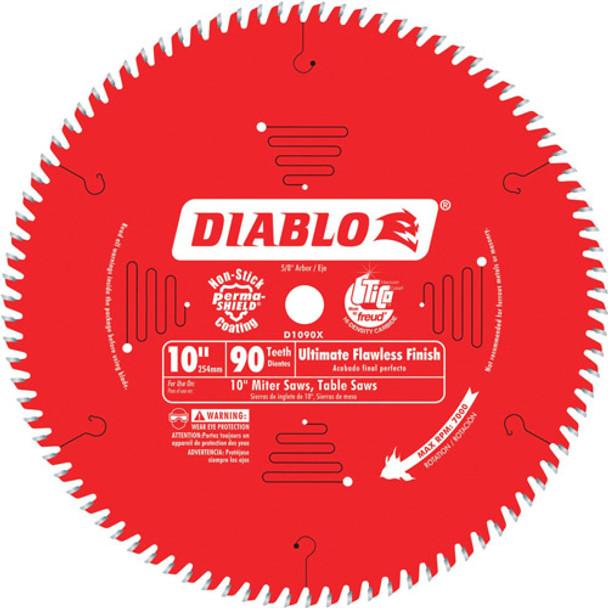 10IN. X90T FLAWLESS FINISH BLADE DIABLO