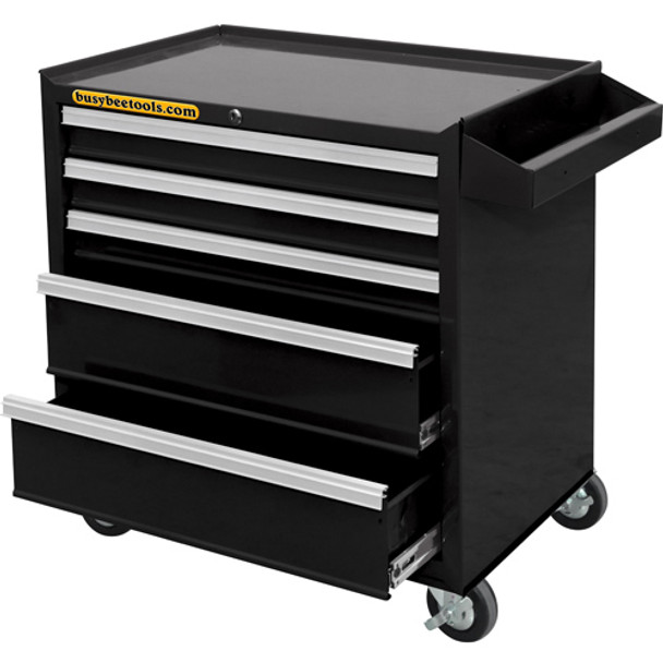 5 DRAWER ROLLING CABINET WITH BALL BEARI