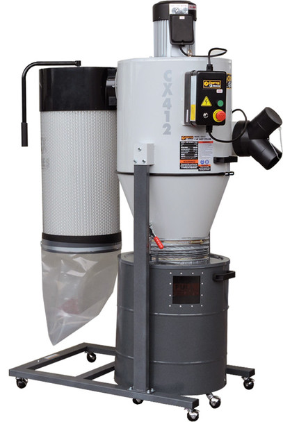 2 HP CYCLONE DUST COLLECTOR CSA CX412