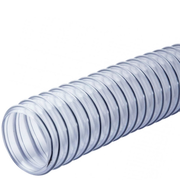PVC HOSE 2 1/2IN. CLEAR 25 FEET