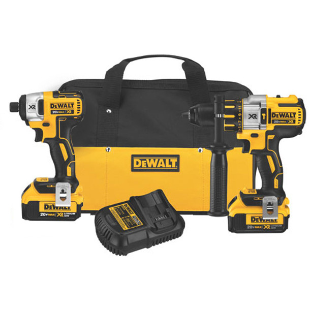 HAMMER AND IMPACT DRILL COMBO BRUSHLESS