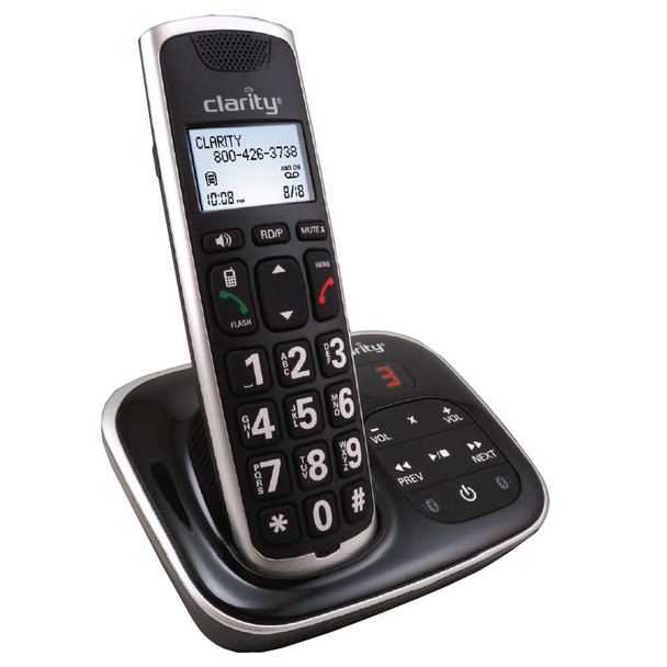 AMPLIFIED BLUETOOTH CORDLESS PHONE CLARI