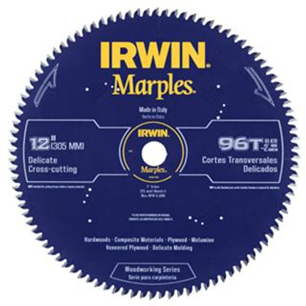 IRWIN MARPLES 12IN. SAW BLADE 96T HI ATB