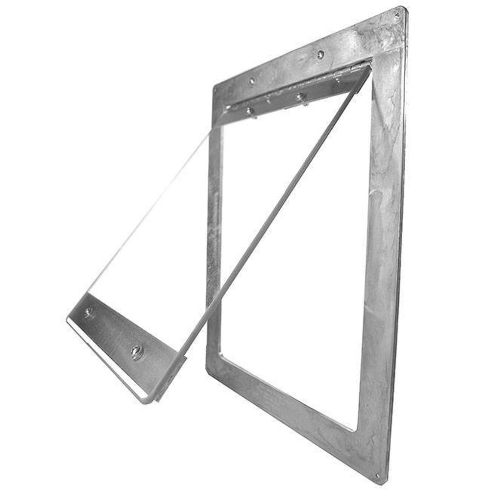 Small Easy Dog Door - perfect for small or arthritic dogs