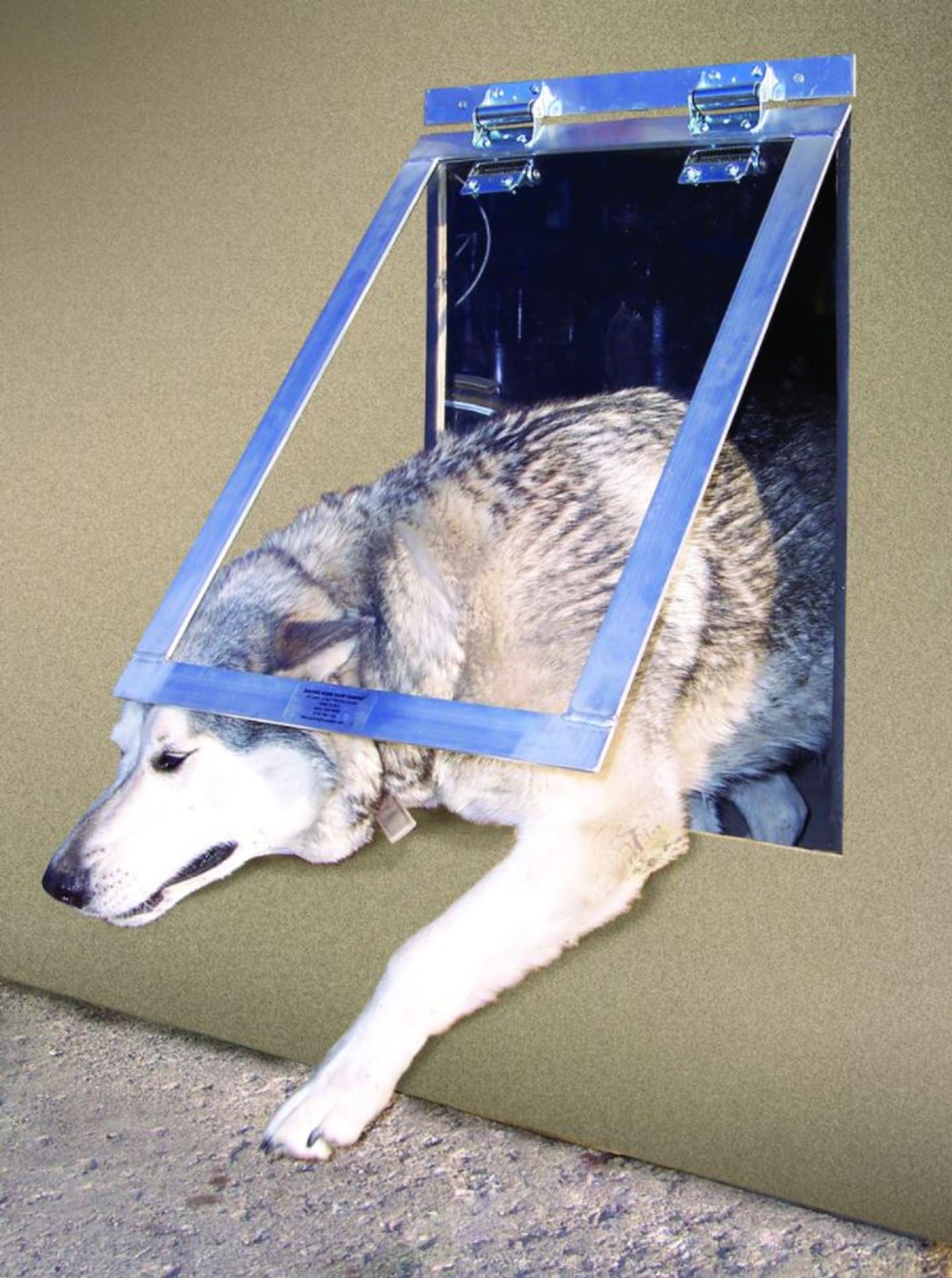 Big Dog Door Gun Dog House Door Inc