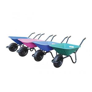 Carrimore Super Barrow - 90 Litre Wheelbarrow - Blue