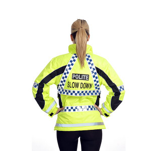 Equisafety Polite Aspey Winter Jacket - Reflective Hi-Viz
