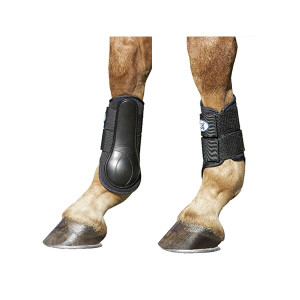 USG Breathopren Brushing Horse Boots - Black x Pair