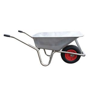 Carrimore Metal Pan 120L Heavy Duty Wheelbarrow
