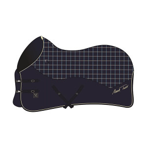 Mark Todd Ultimate Heavyweight Stable Rug - Navy/Beige/Royal