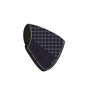 Mark Todd Ultimate Heavyweight Stable Neck Cover - Navy/Beige/Royal