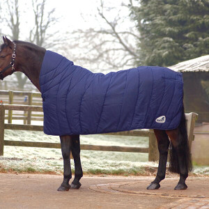 Masta Contoured Horse Duvet Rug - Navy