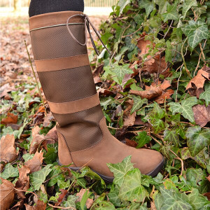 Mark Todd Tall Fileon Country Boot - Brown