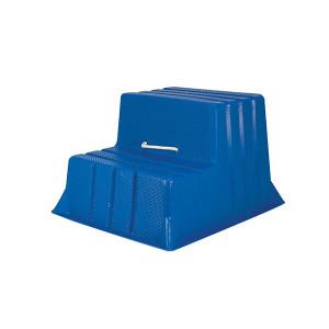 Stubbs Mountie S521 Horse Mounting Block - Blue