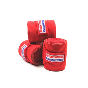 John Whitaker Horse Training Bandages - Red