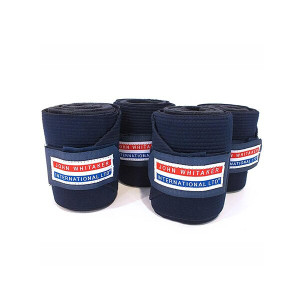 John Whitaker Horse Training Bandages - Navy