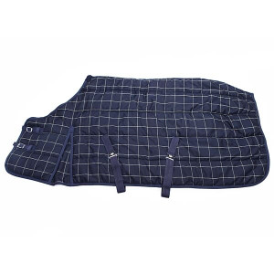 Elico Evesham Combo 300g Stable Rug - Blue Check