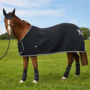 Elico Dartmoor Fleece Showing Rugs - Black