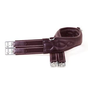 Rhinegold German Leather Softee 'Comfort' Girth - Havana