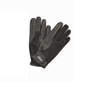 Elico Kilburn Leather Palm Gloves - Black