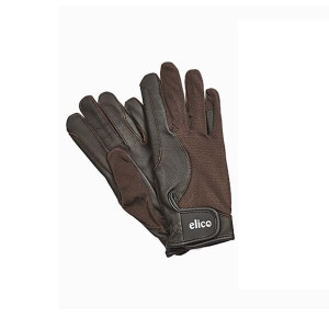 Elico Kilburn Leather Palm Gloves - Brown