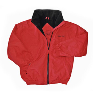 Mark Todd Fleece Lined Blouson Unisex Jacket - Red