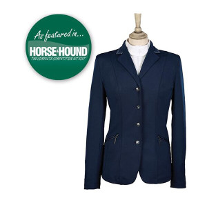 Caldene Competition Jacket Cadence Stretch - Girls Navy